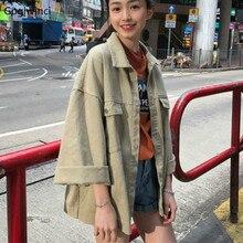 Jackets Women High Quality Sweet Trendy Simple Leisure Retro Students Korean Jacket Womens 2020 All-match Harajuku Elegant Coat