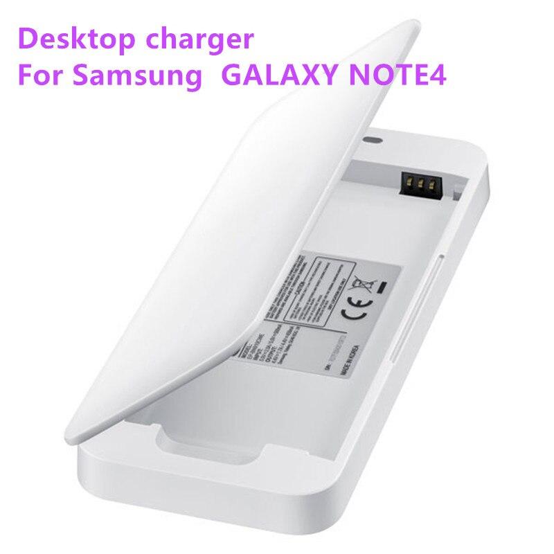 Cargador de base de carga de escritorio Original + Cable Micro USB para Samsung GALAXY NOTE4 N910a N910u N910F N910H batería de teléfono