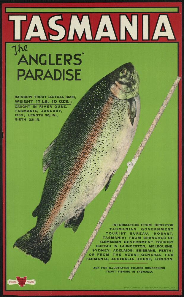 Cartel grande de METAL placa de pared de estaño de los pescadores