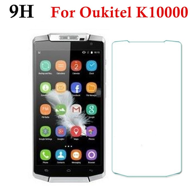 For Oukitel K10000 Tempered Glass Screen Protector 0.26mm Front Safety Protective Film on Oukitel k10000 5.5