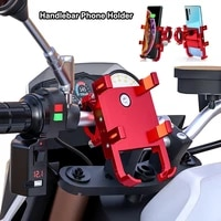 universal bicycle moto smartphone support handlebar mount stand mountain bracket motorcycle bike mobile phone holder for harley