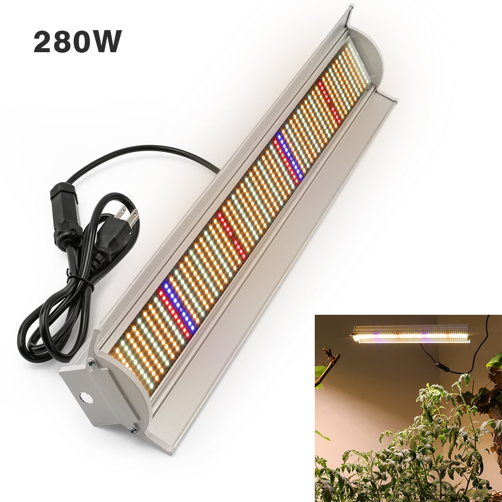 XRYL 2pcs Full Spectrum 280W Plant Grow Tent Led Plant Growing Lamp Indoor Led Grow Light Bar For Greenhouse Vegetables Flowers enlarge