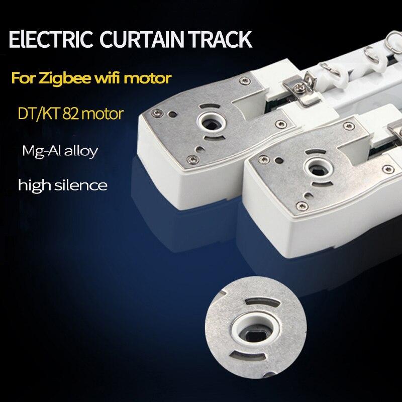 Pista de cortina eléctrica para zigbee wifi Dooya KT82/DT82 M1 motor personalizable Super para el Hogar Inteligente