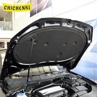 for volkswagen passat b7 2011 2016 car heat sound insulation cotton front hood engine firewall mat cover noise deadener