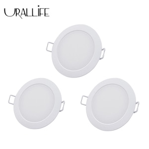 Urallife Smart Downlight Adjustable Color Temperature Ceiling Lamp Dimming White & Warm Light WIFI Work With Mi Home App 3 pcs