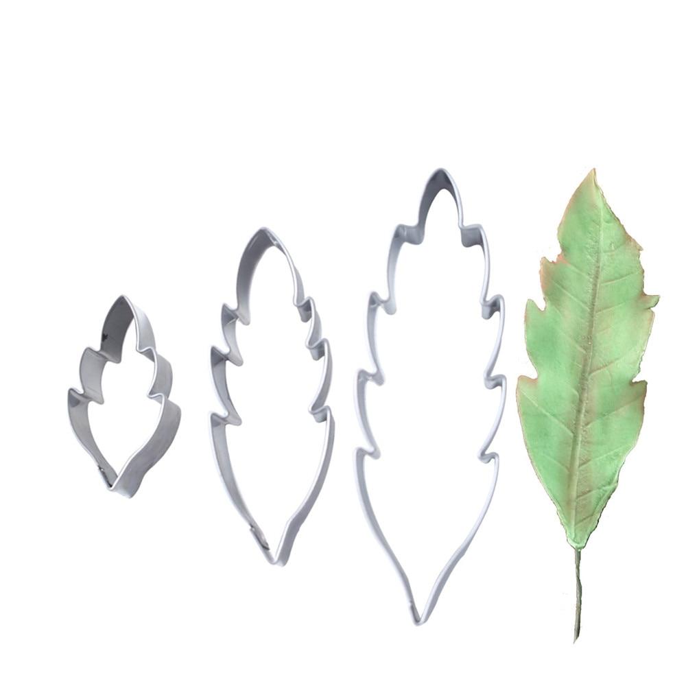Cortador de argila de polímero molde de aço inoxidável crisântemo flor folha cortadores designer diy modelo flor poterie ferramentas molde