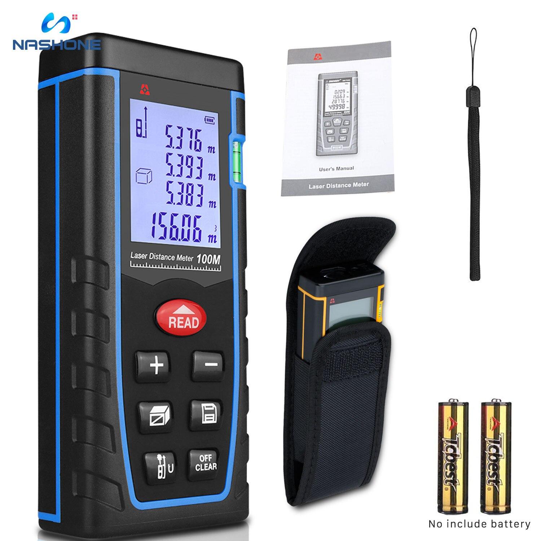 Ferramenta de medição a laser medidor de distância a laser 40m 100m fita de medição a laser ângulo finder construir instrumentos de medição & análise