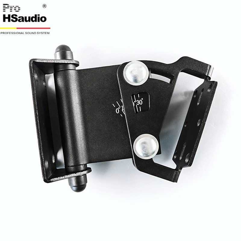 ProHSaudio (2PCS/Lot) Speaker Wall Hanger Conference Thickened Style Home Audio Stand,Max Load Capacity 30KG enlarge