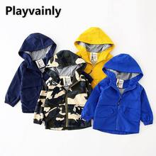 2021 New Boys Jackets Baby Coats Long Sleeve Casual Kids Jackets Coat for Boys Kids Clothes E4008