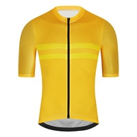 Fualrny-Camiseta de Ciclismo profesional para hombre, Maillot ligero sin costuras para Ciclismo de montaña
