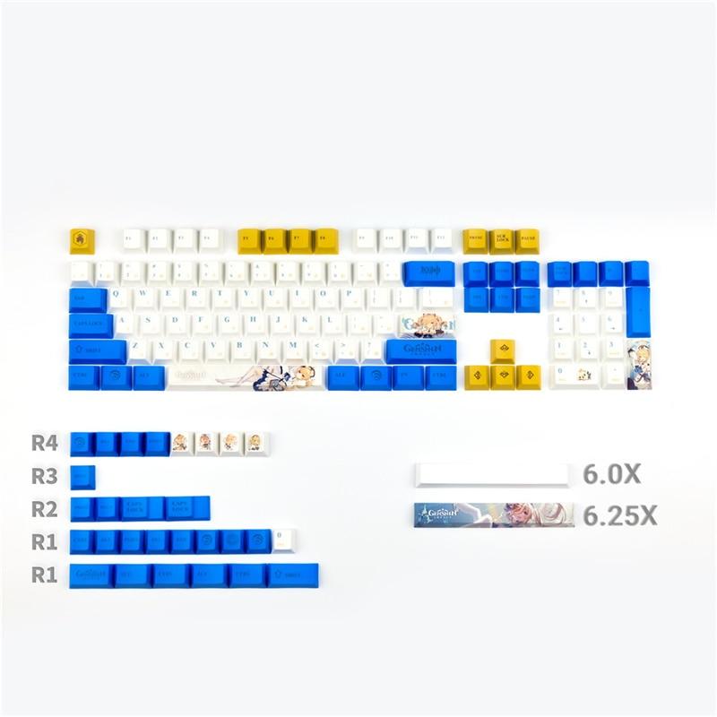 الكرز الشخصي لوحة المفاتيح الميكانيكية العالم القديم الله keycap PBT اليابانية الجذر الآسيوية مجموعة 128 مفاتيح مجموعة ل الكرز MX Gateron التبديل