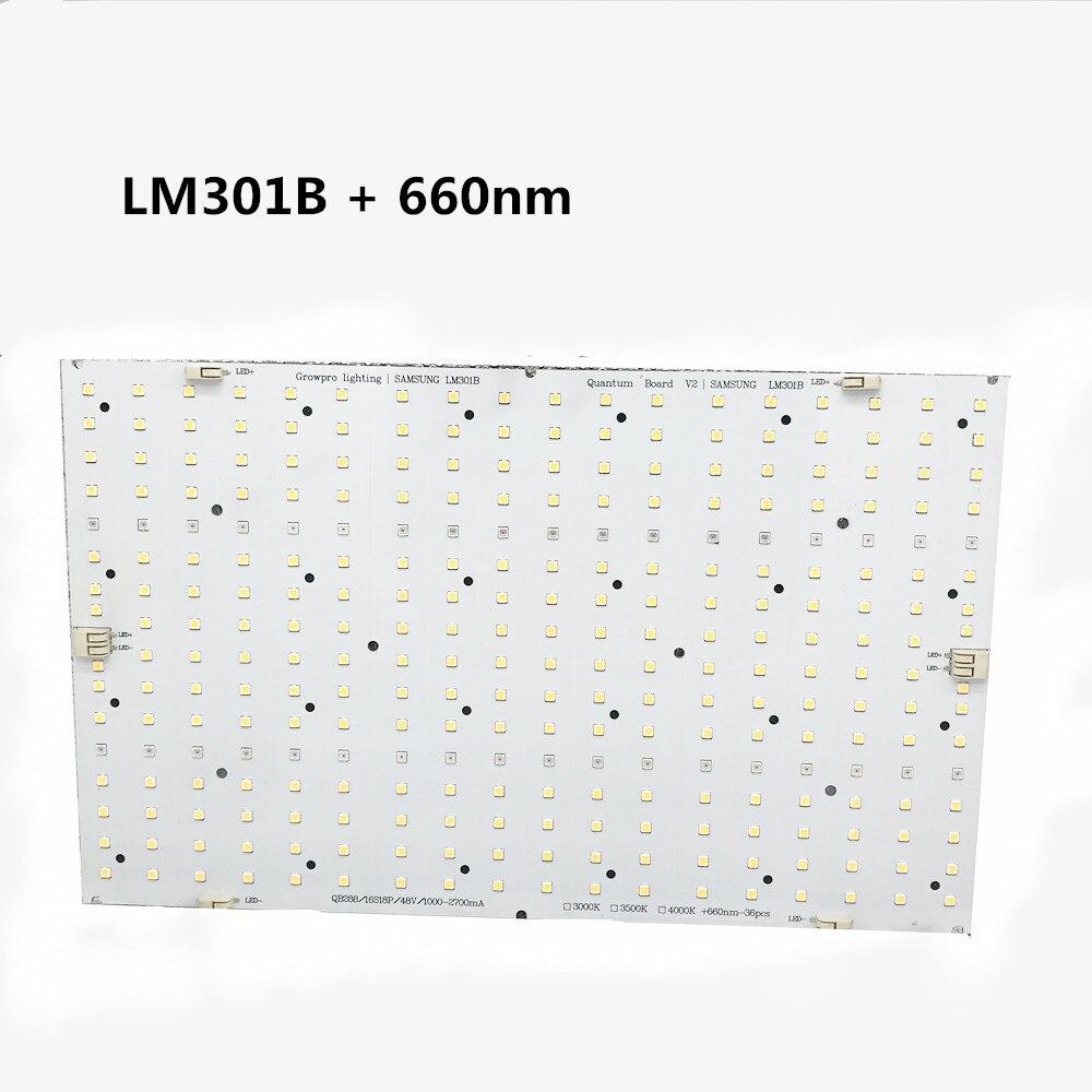 لوحة مصباح نمو led quantum ، UV/IR ، Samsung QB288 ، 3000/3500K ، 660nm ، LM301B/LM301H ، 120/240w ، مع مصدر طاقة Meanwell