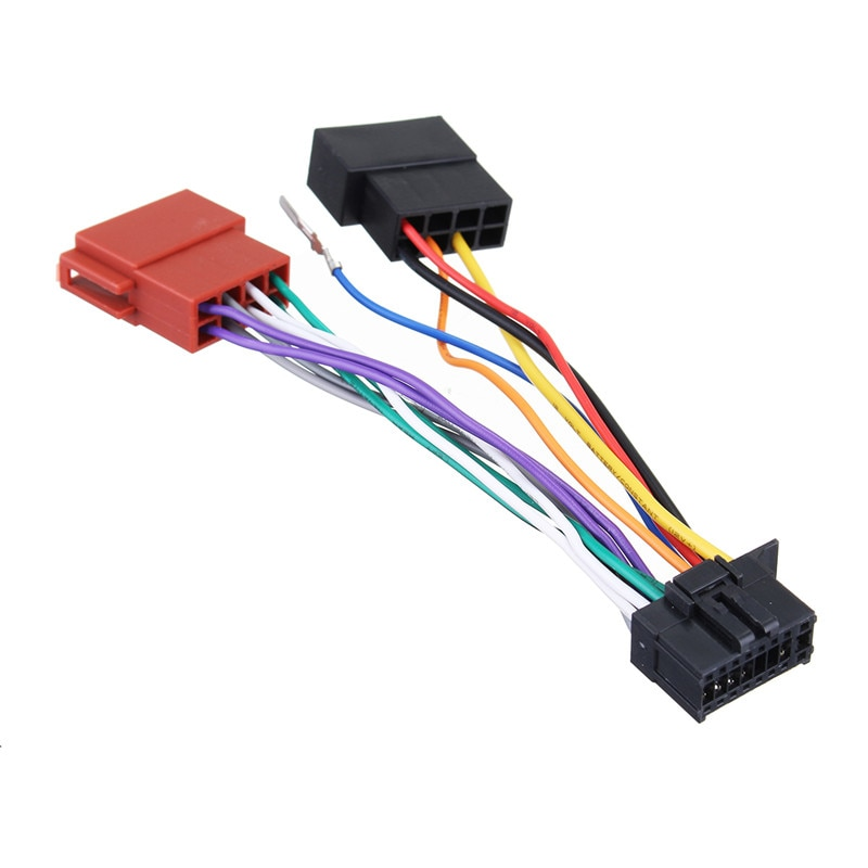 16 Pin CD de coche cola línea estéreo del mercado de reproductor...