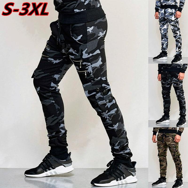 ¡Novedad de 2020! Pantalones de camuflaje informales para hombre, pantalones Harem