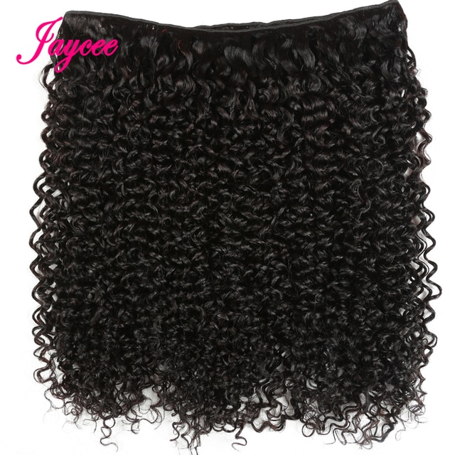 Jaycee Afro Kinky Curly Bundles With Closure 4 4 Mongolian Hair Weave Bundles With Closure Tissage Cheveux Naturel Court Www2 Stadarent Se