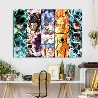 japanese anime canvas painting dragon ball posters and prints print mural pictures childrens room home wall decoration cuadros