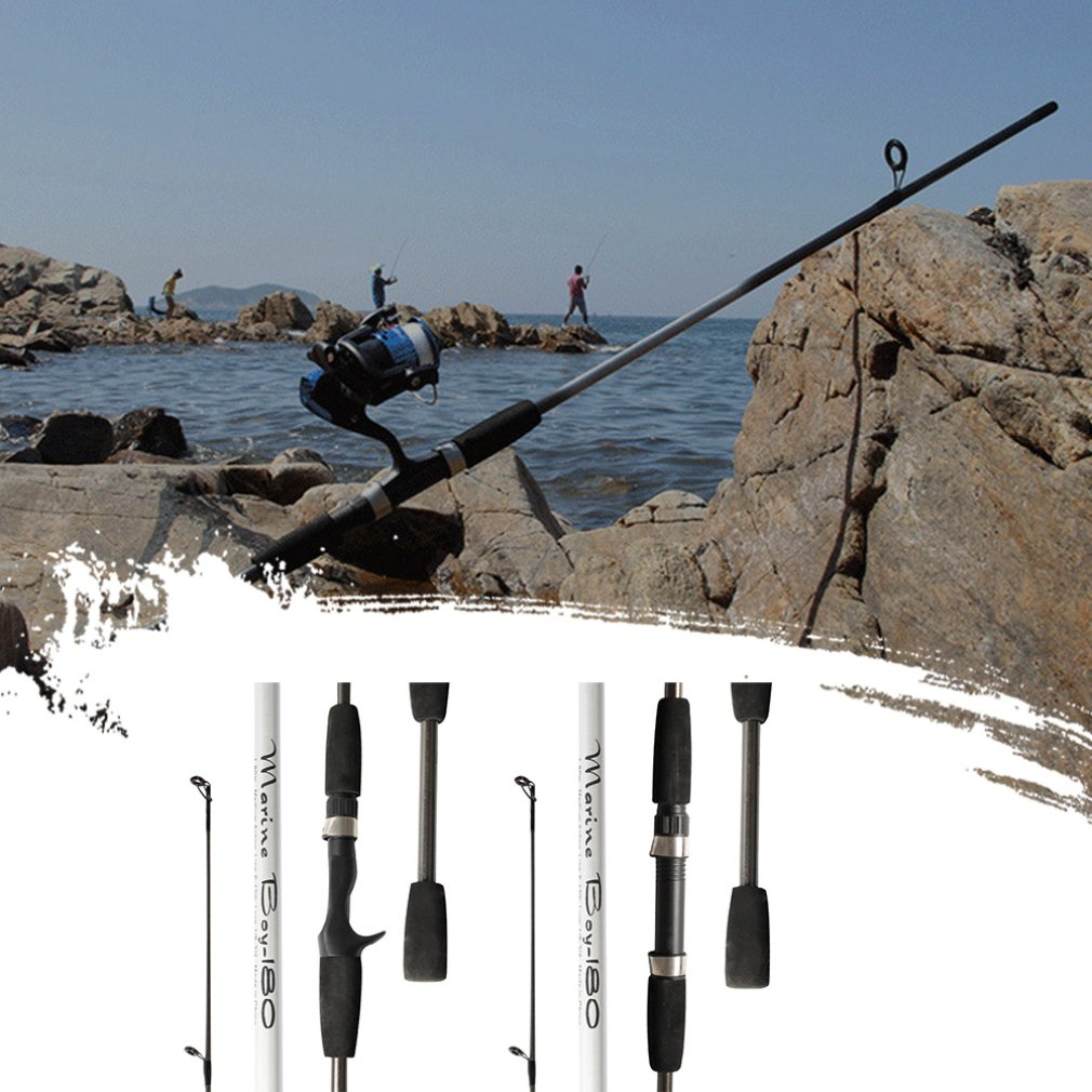Frp Sea Fishing Rod 1.8 M Chasing Fish Straight Shank Gun Handle Fishing Rod Outdoor Fishing Hand Fishing Gear enlarge