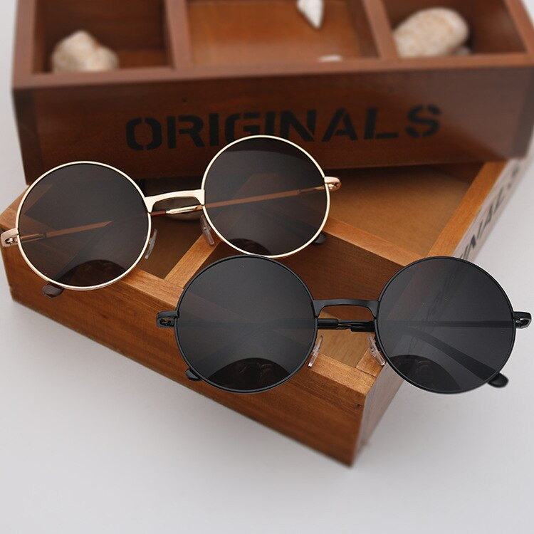 round Glasses Men Women Steampunk Sunglasses Vintage Sunglasse Women Brand Designer round Sunglasses