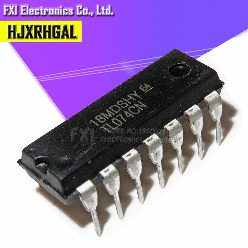 10 шт. TL074CN DIP14 TL074 DIP новый оригинальный