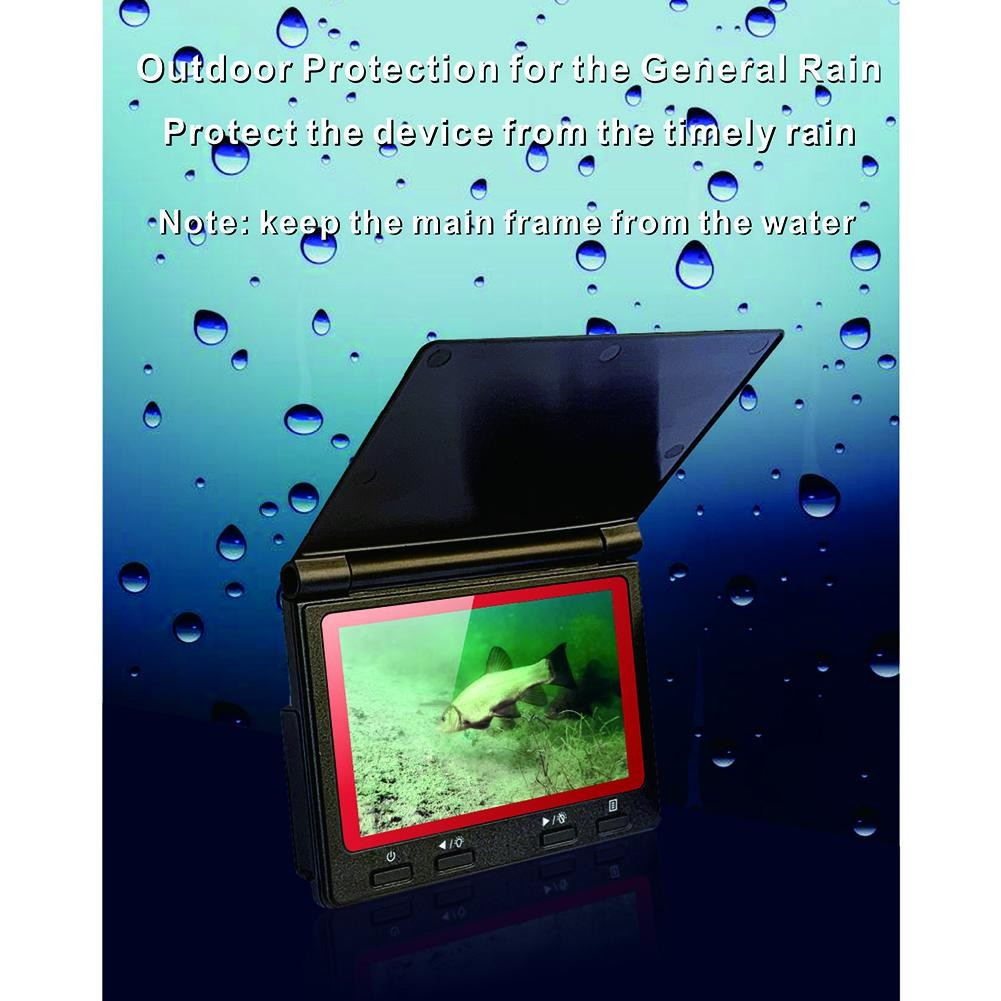 Underwater Fish Finder 180 Degrees Wide Angle Fishing Camera Set  4.3 Inch High-Definition Display  Night Vision Camera Fishing enlarge