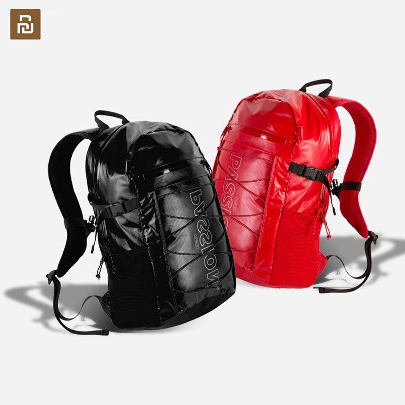 Youpin IGNITE حقيبة ظهر رياضية موضة مظهر مريح قماش مقاوم للماء 23L سعة كبيرة متعددة الوظائف تخزين