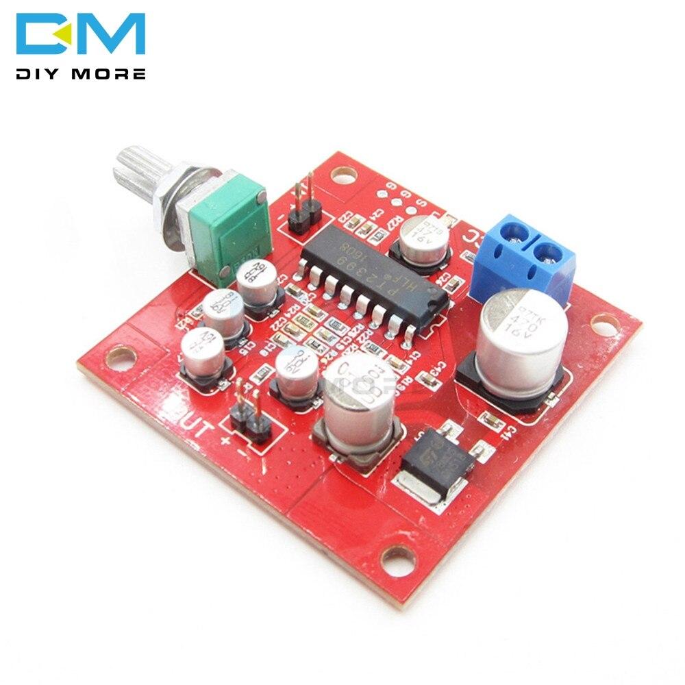 PT2399 Microfone Reverb Placa Placa de Reverberação Não Preamplifier DC 6-15V Sem Preamplifier Removível R27 Módulo Resistor DIYKIt