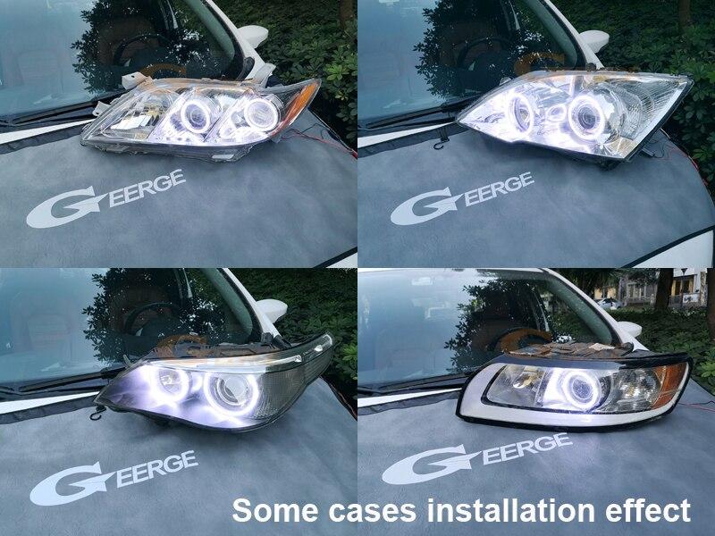 Купить с кэшбэком Excellent quality Ultra bright COB led angel eyes halo rings Day Light For BMW X5 E53 2000 2001 2002 2003 2004 2005 2006