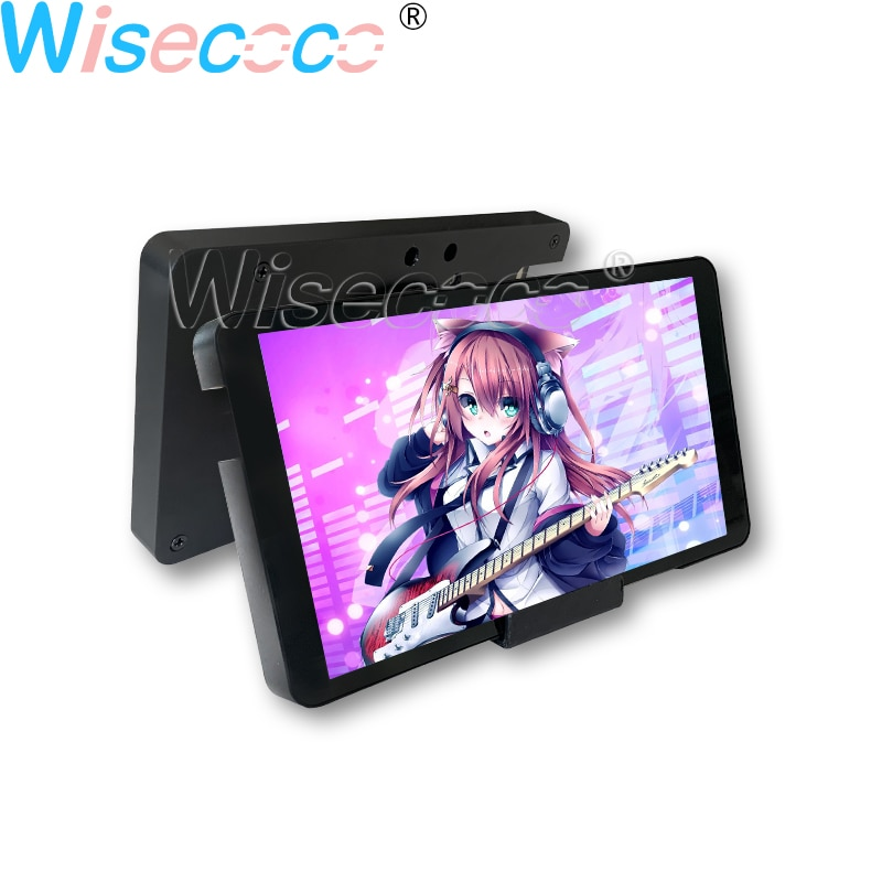 5.5 Inch 1080P FHD IPS LCD Display Capacitive Touch with Case Monitor Module Adjust Brightness for TV BOX