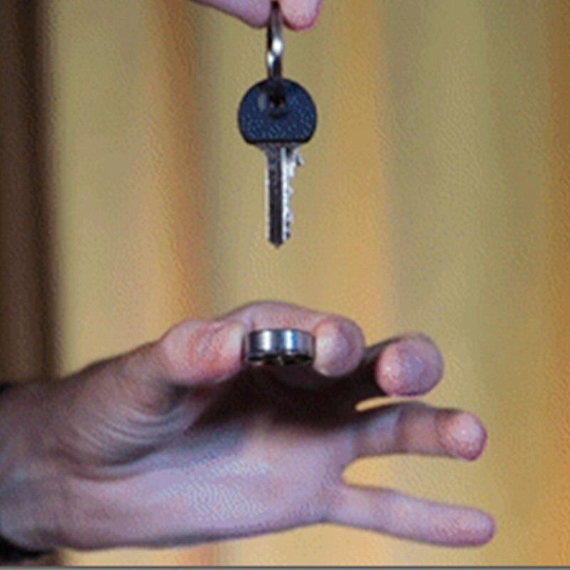 Flite Magic Tricks Borrowed Ring to Keychain Appear Vanish Magia Magician Close Up Street Illusions Gimmicks Mentalism Props недорого