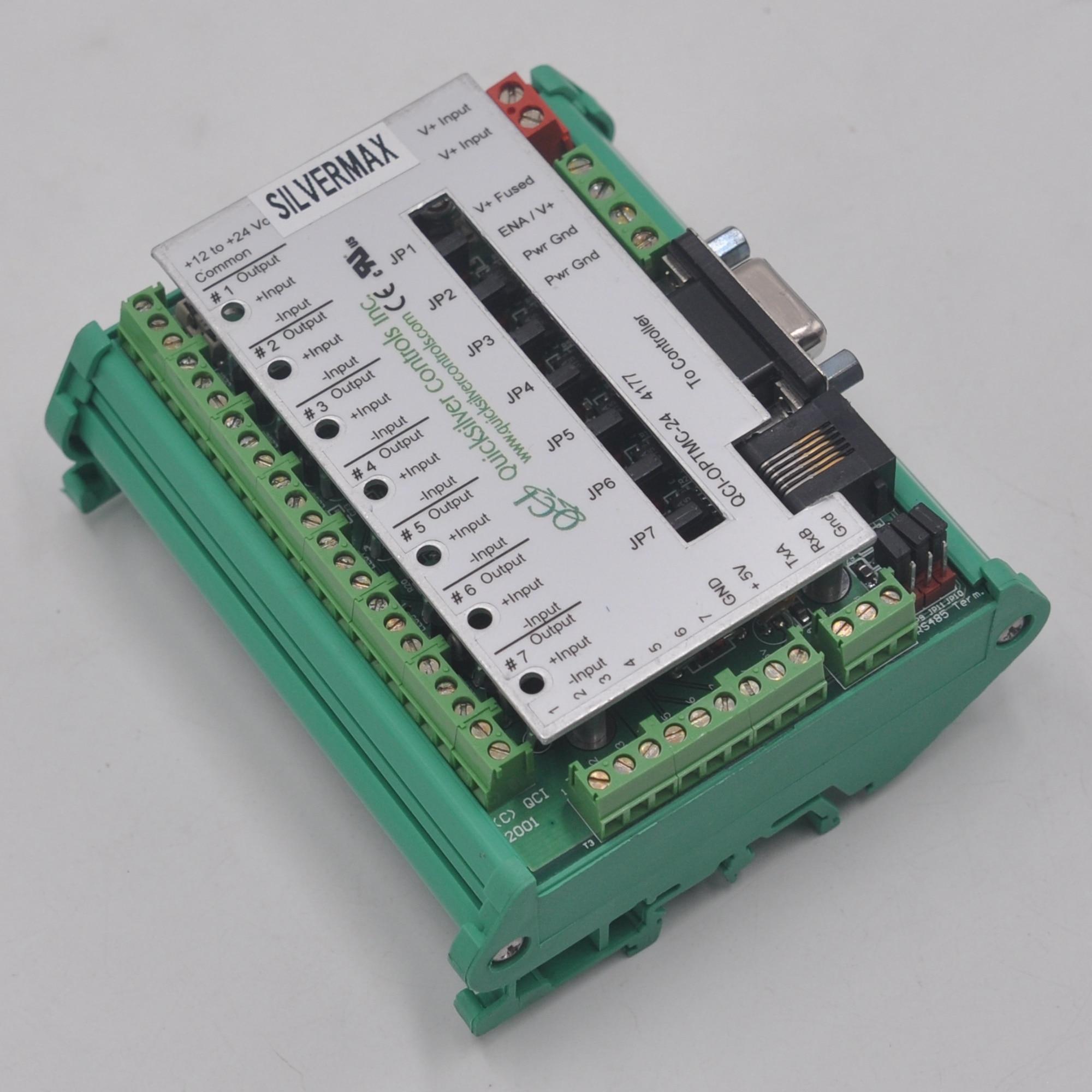 Quicksilver Controls Inc QCI-OPTMC-24 servo controller