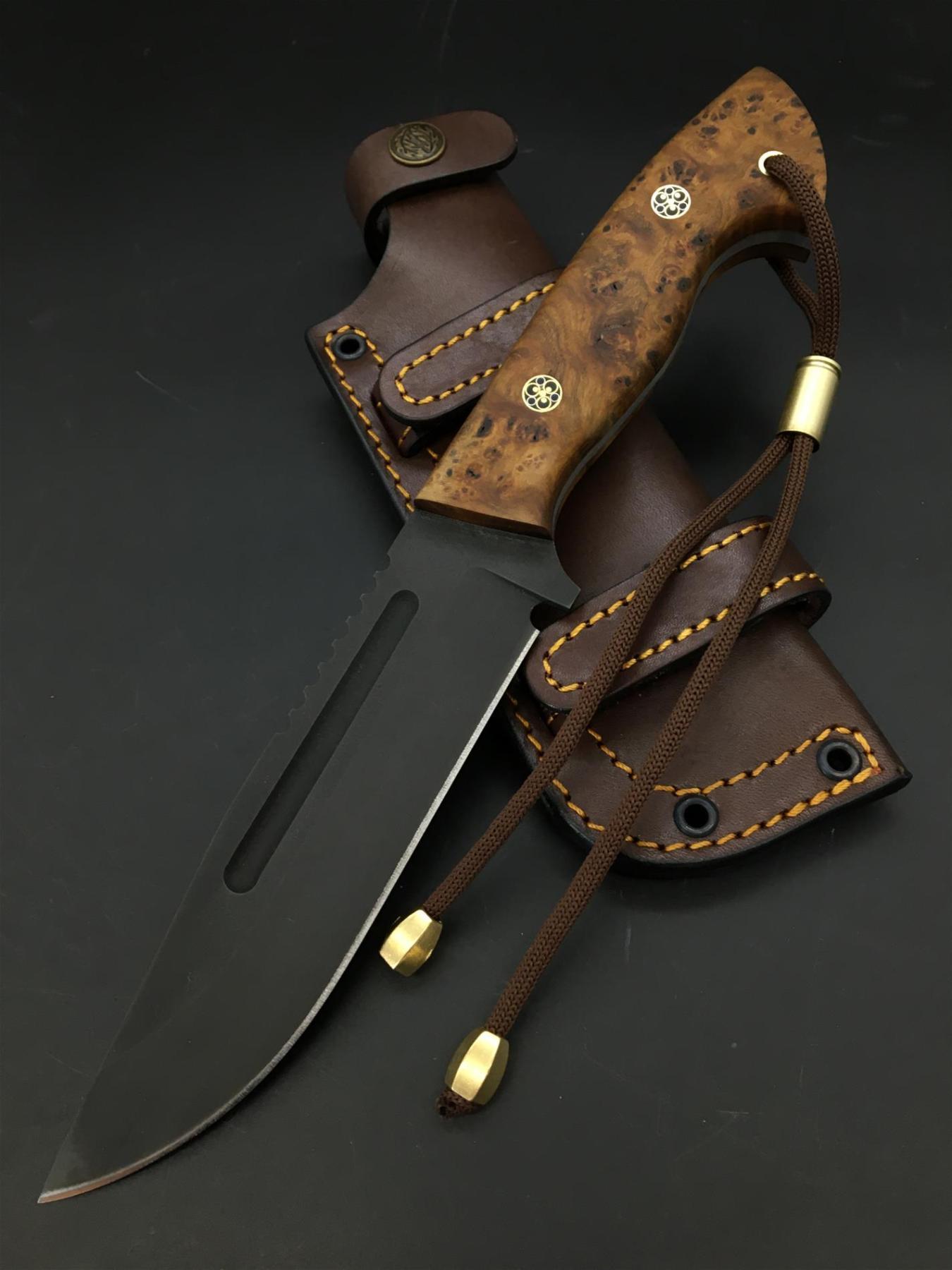 Handmade Uddeholm Sleipner Knife TK82