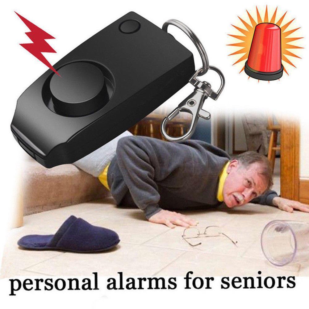 Alarma Personal Runner, alarma Personal de autodefensa SOS, alarma Personal de emergencia, alarma de seguridad en la muñeca, anillo de 120dB para la tecla nocturna D3O8