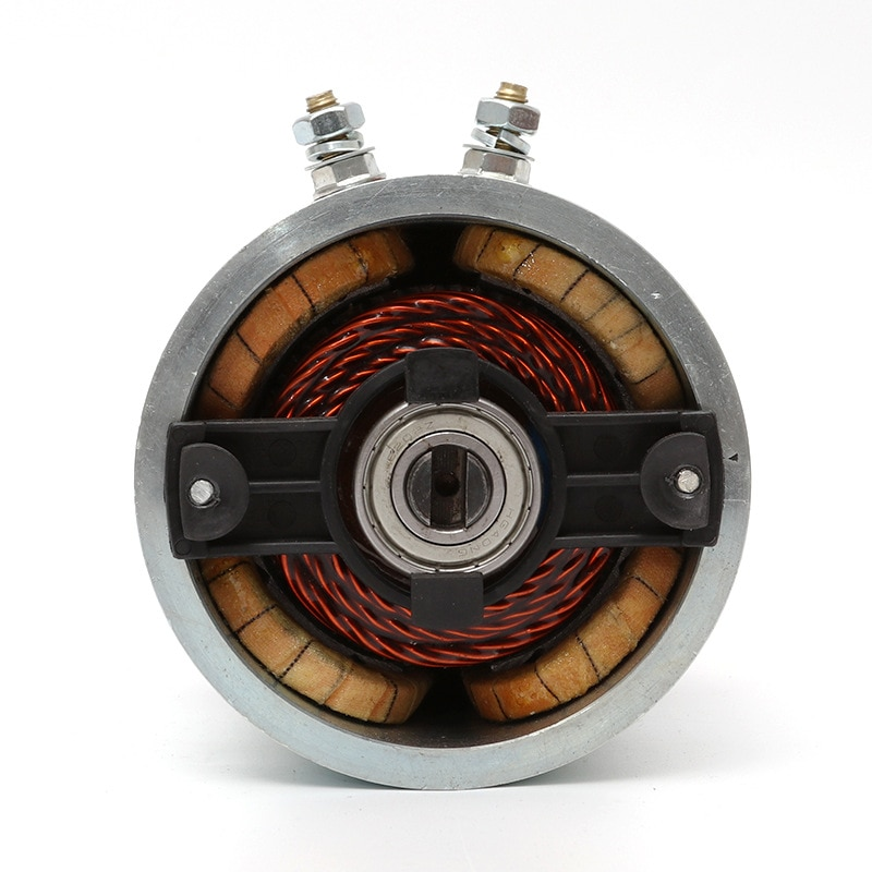 24v1.2kw Brushless DC Motor Power Unit Motor Retarding Device Copper Wire Movement Micro Car Motor The Brush DC Motor Electrical enlarge
