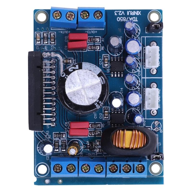 TDA7850 Car Audio Power Amplifier Board Stereo 4x 50W with BA3121 Denoiser 12V M