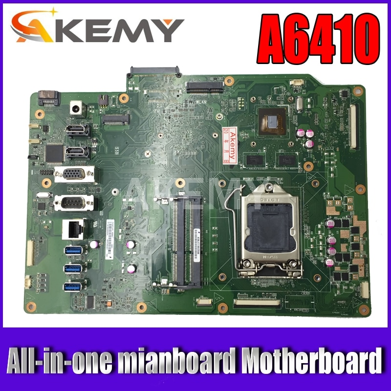 Akemy new!A6410-B85 Motherboard For Asus A6410-B85 A6410 All-in-one mainboard Motherboard GMAIL