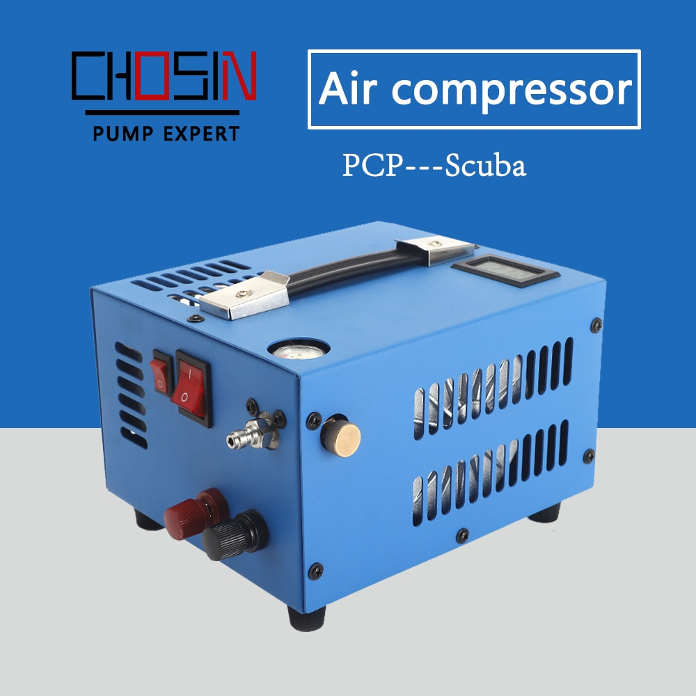 High quality high pressure air compressor PCP is used for gun paintball diving cylinder scuba 0-30MPA