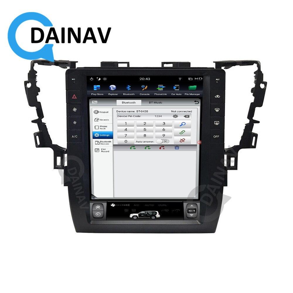 DVD de navegación GPS para Radio de coche para Toyota Alphard AH30 2015 2016 2017 2018 2019 reproductor Multimedia para coche DVR Control de volante