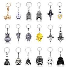 50 Style Star Wars porte-clés StormTrooper casque Storm Trooper pendentif porte-clés dark vador masque super-héros porte-clés porte-clés