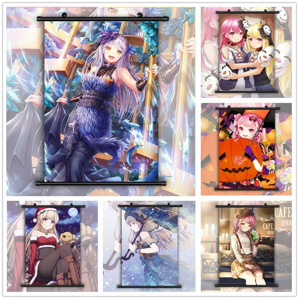 Estrondo de Sonho! Yukima aya chisato anime manga hd impressão parede cartaz rolagem