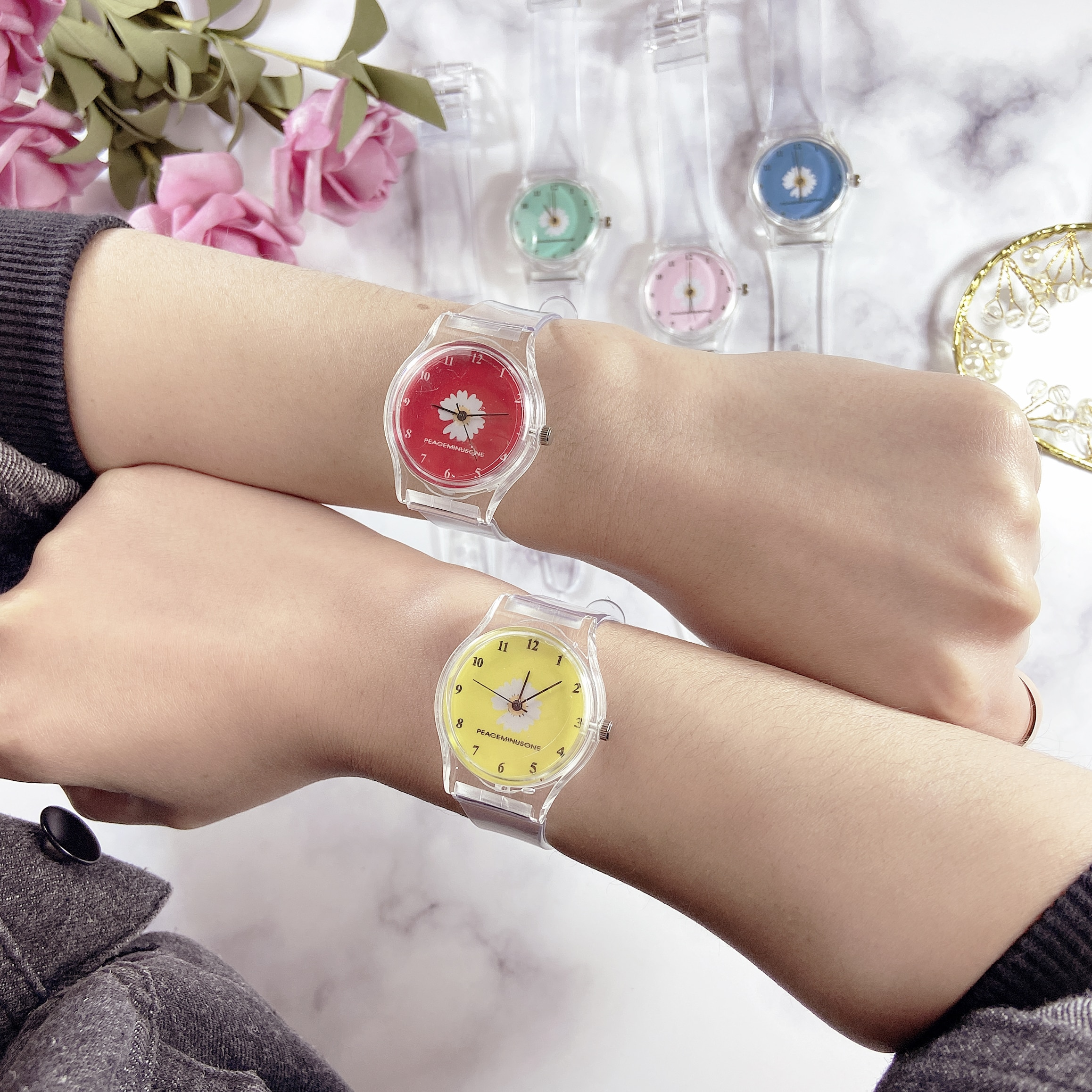 2020 small daisy elegant flower watch ladies fashion casual quartz watch simple ladies clock gift simple small часы женские