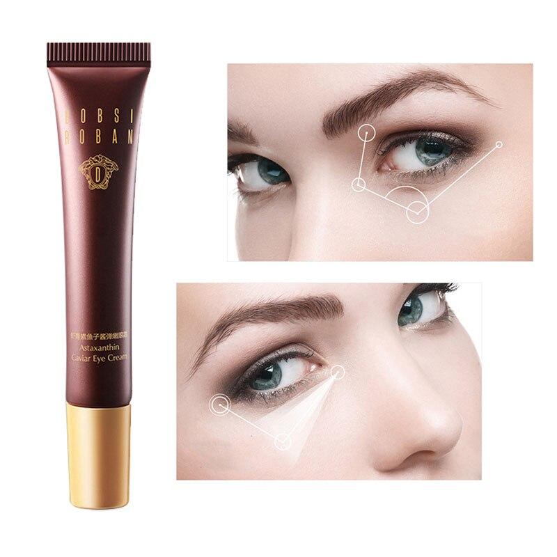 Astaxanthin Anti Aging Eye Cream Moisturizing Remove Puffiness Eye Essence Firming Skin Repair Skin Eye Care Caviar Essence 20g недорого