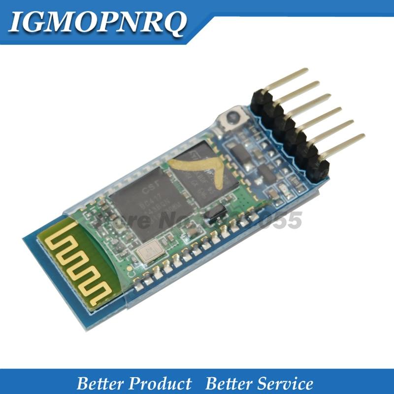 1pcs HC-05 HC 05 RF Wireless Bluetooth Transceiver Slave Module RS232 / TTL to UART converter and adapter