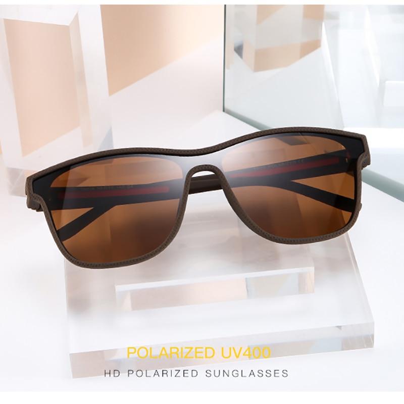 Fashion Siamese Lens Sunglasses Men's Classic Polarized Glasses Riding And Driving Trendy Sunglasse