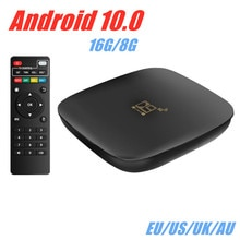 D9 Smart TV BOX Android box 10.0 max 4K Dual Wifi BT Media player Play Store Fast Android tv Set top