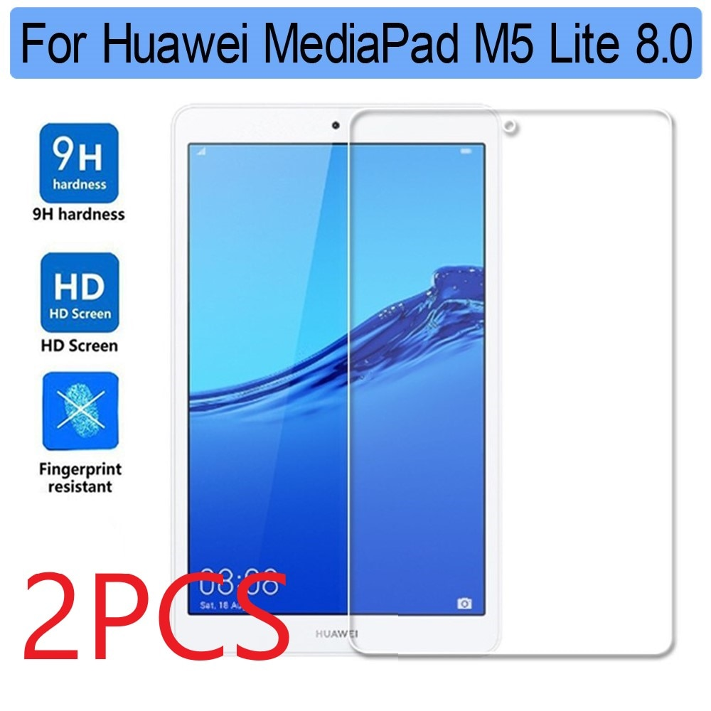 Protector de pantalla de vidrio templado para Huawei Mediapad M5 Lite, Protector...