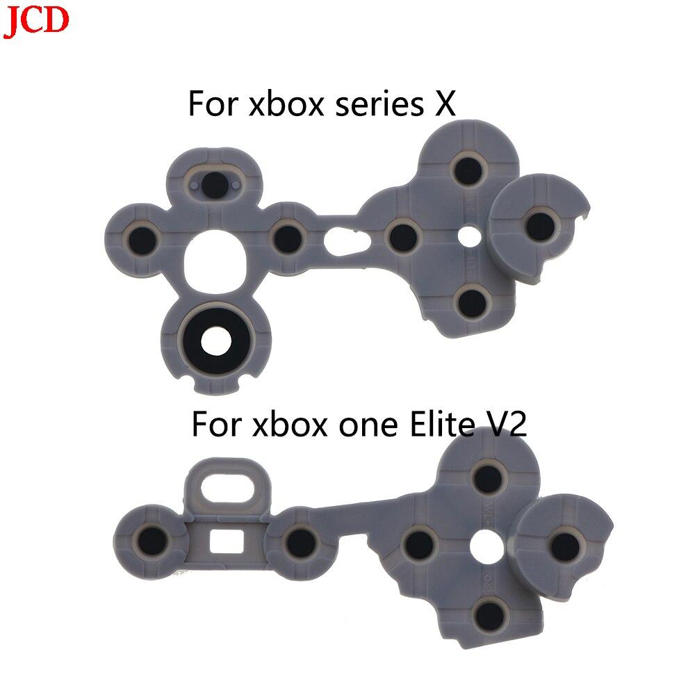 JCD 10 Uds Adhesivo Conductor Para Xbox uno Slim X clave Pad...