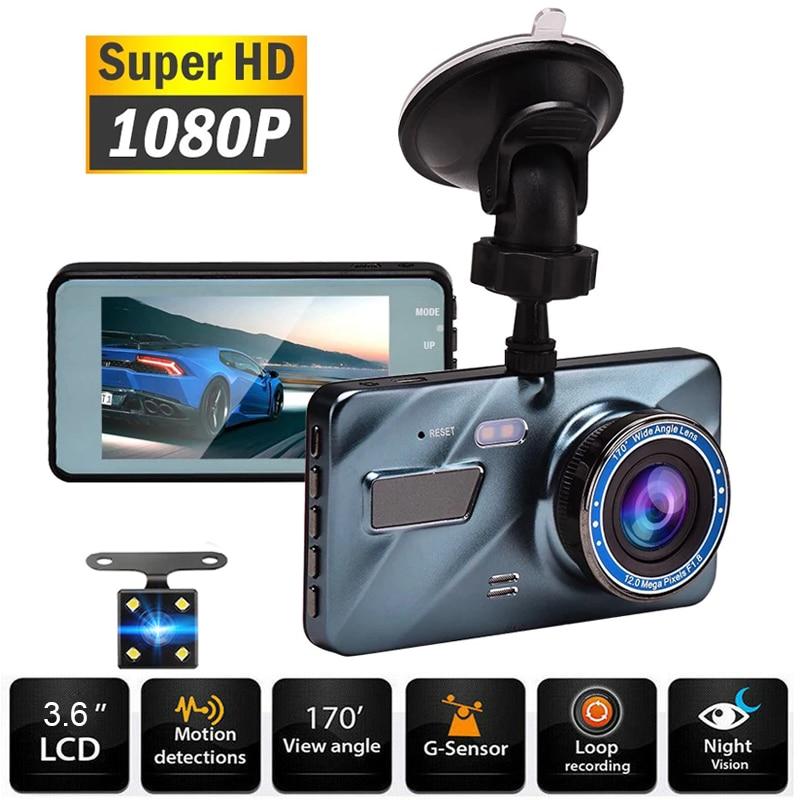 Dash Cam Video recorder 3 in 1Rear View Dual Camera Full HD Car Camera 3.6