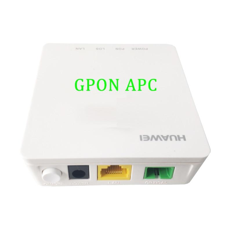 40PCS Huawei 98% NEW GPON ONU ONT SC APC interface HG8310M 1GE FTTH Modem English firmware