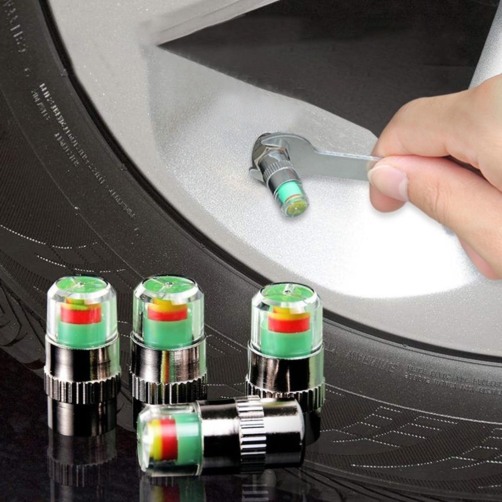 Car Tire Pressure Indicator Valve Stem Caps for toyota auris reno megane 2 focus kia sportage 3 grand vitara kia rio 2018