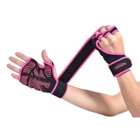 gym equipment workout gloves dumbbell horizontal bar non slip hollow out extended bracers weightlifting women training gloves